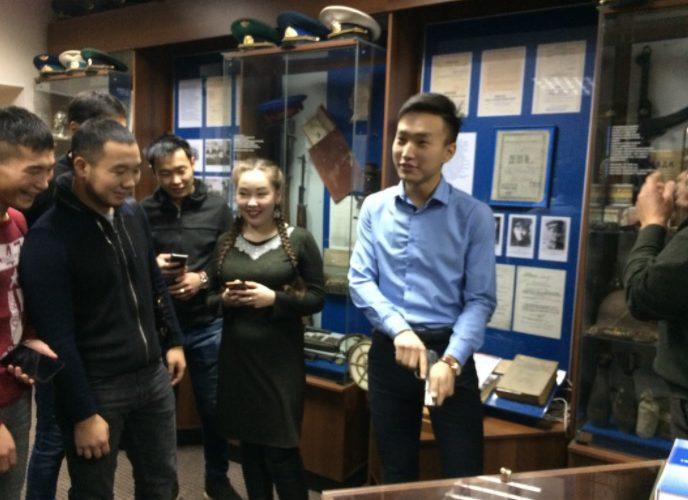 Студенты ИЭУ посетили музей ФСБ РБ